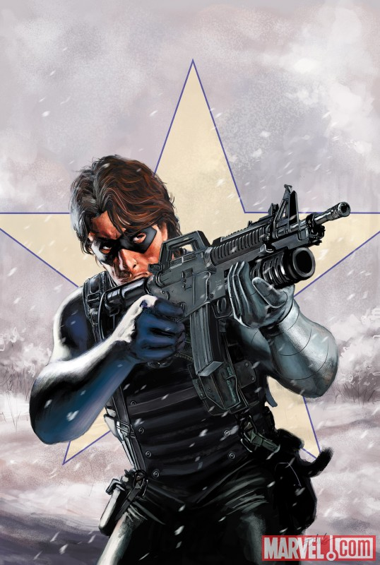 WINTER SOLDIER: WINTER KILLS #1 cover by Steve Epting