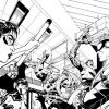 AVENGERS ACADEMY #5 black and white preview art by Jorge Molina 1