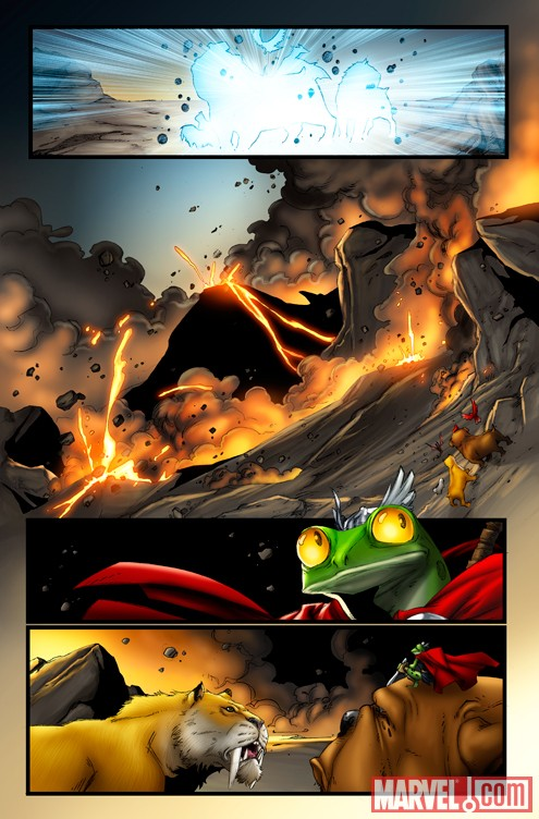 Image Featuring Frog Thor, Lockjaw