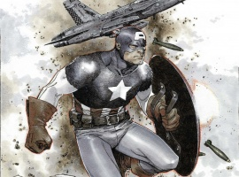 Captain America #1 Coipel Variant cover