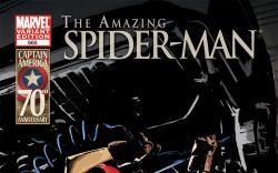 Amazing Spider-Man (1999) #665, I Am Captain America Variant