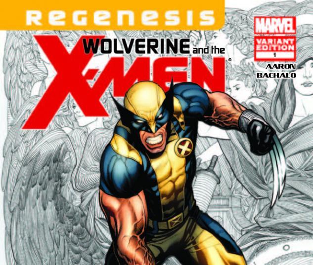 WOLVERINE & THE X-MEN 1 CHO VARIANT (XREGG)