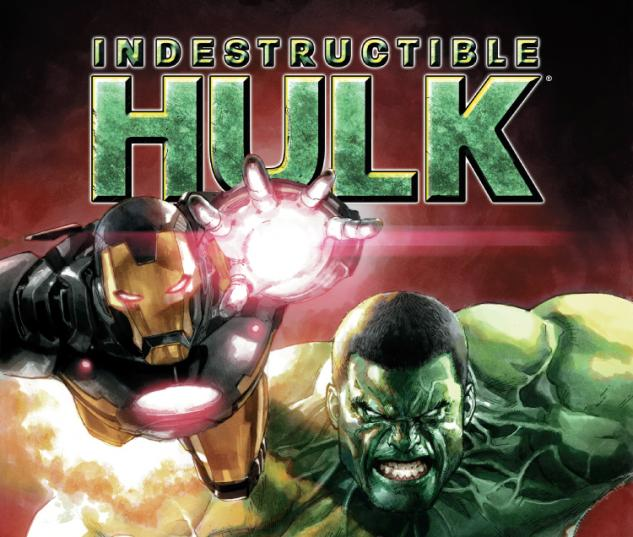 cover from Indestructible Hulk (2012) #2 (2ND PRINTING VARIANT)