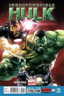 Indestructible Hulk #2  (2nd Printing Variant)