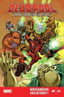 Deadpool (2012) #20