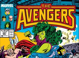 Avengers (1963) #297 Cover