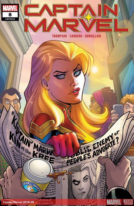 Captain Marvel (2019) #8