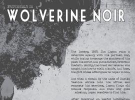 WOLVERINE NOIR #3, intro page