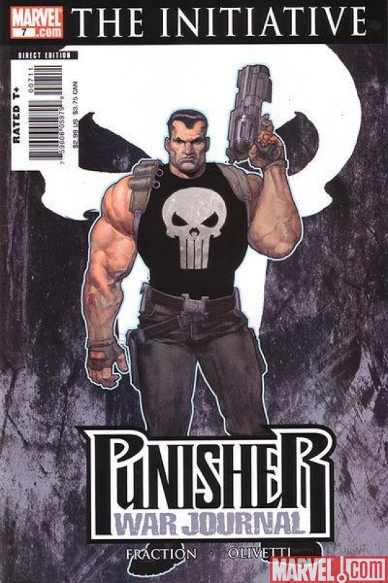 PUNISHER WAR JOURNAL #7 (2006)