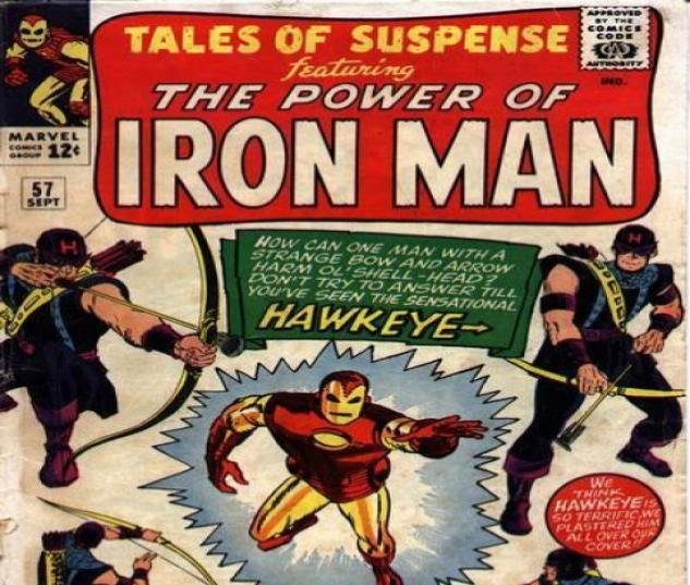 TALES OF SUSPENSE #57