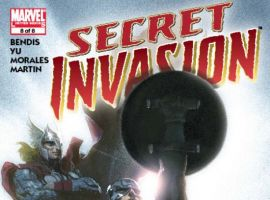 SECRET INVASION #8 Cover