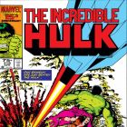 INCREDIBLE HULK #318 COVER