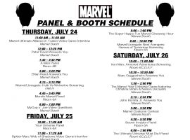 Download the Panel and Booth Schedule