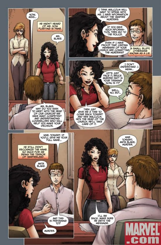 ANITA BLAKE, VAMPIRE HUNTER: GUILTY PLEASURES #9, page 3