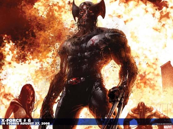 X-Force (1991) #6 Wallpaper