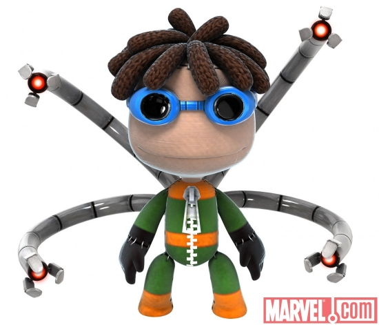 Doctor Octopus costume in LittleBigPlanet