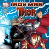 IRON MAN / THOR #1 cover by Ron Garney