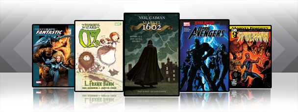 Marvel iPad/iPod App: Latest Titles 11/3/10