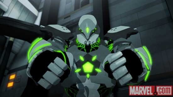 Titanium Man in Iron Man: Armored Adventures