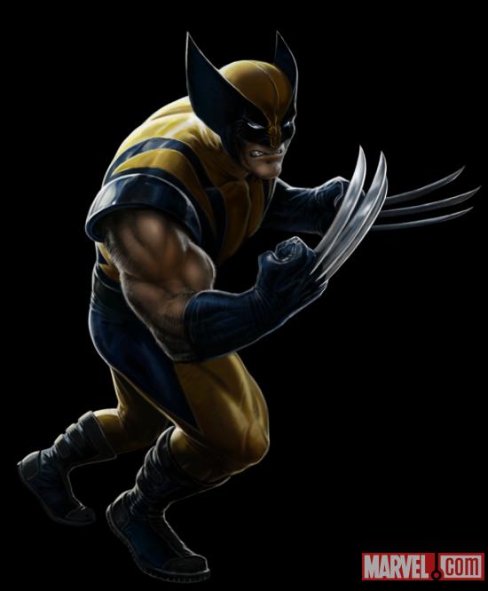Wolverine from marvel avengers alliance