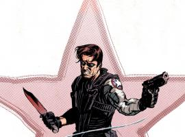 Winter Soldier #15 variant cover by Nic Klein