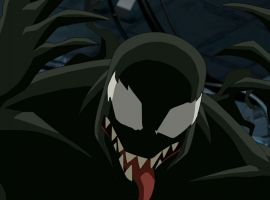 Venom takes over the S.H.I.E.L.D. Tricarrier in Marvel's Ultimate Spider-Man