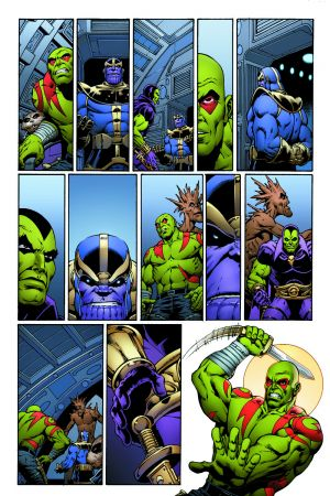 Thanos: The Infnity Revelation preview art by Jim Starlin