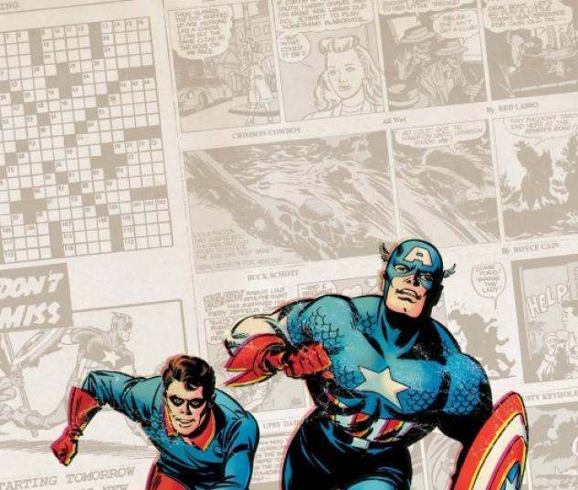 Captain America: The 1940's Newspaper Strip (2010) #1