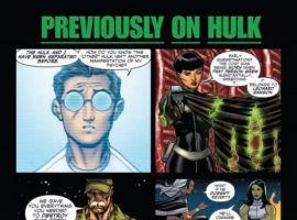 HULK #14, intro page