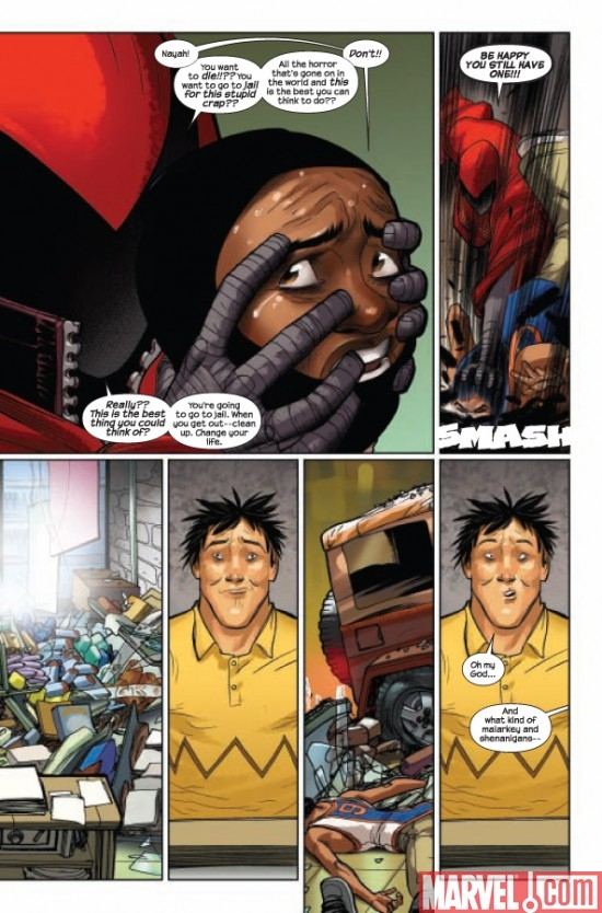ULTIMATE COMICS SPIDER-MAN #1, page 6