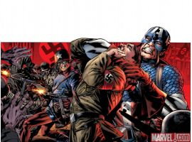 CAPTAIN AMERICA: REBORN #2 cover by Bryan Hitch