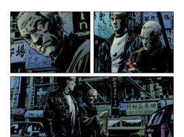 DAREDEVIL #114 preview art by Michael Lark