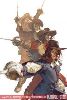 Marvel Illustrated: The Three Musketeers #6