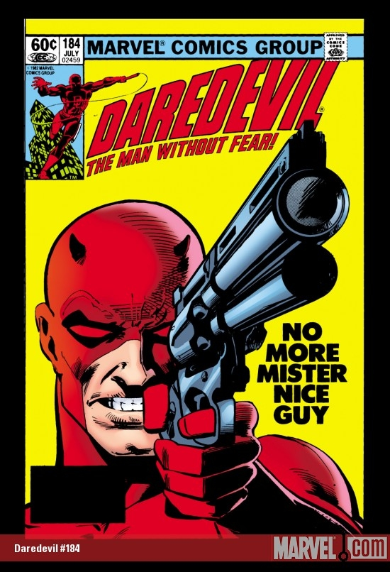 DAREDEVIL #184 COVER