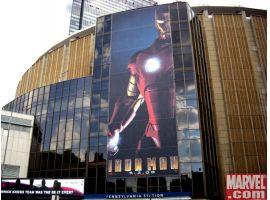 Iron Man guards MSG