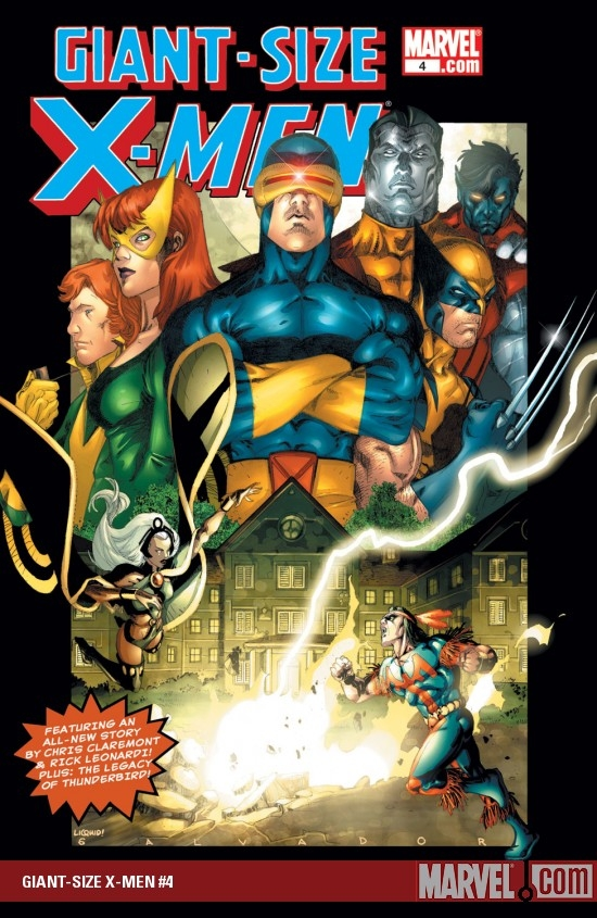 Giant-Size X-Men (2005) #4
