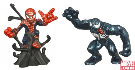 Spider-Man and Venom