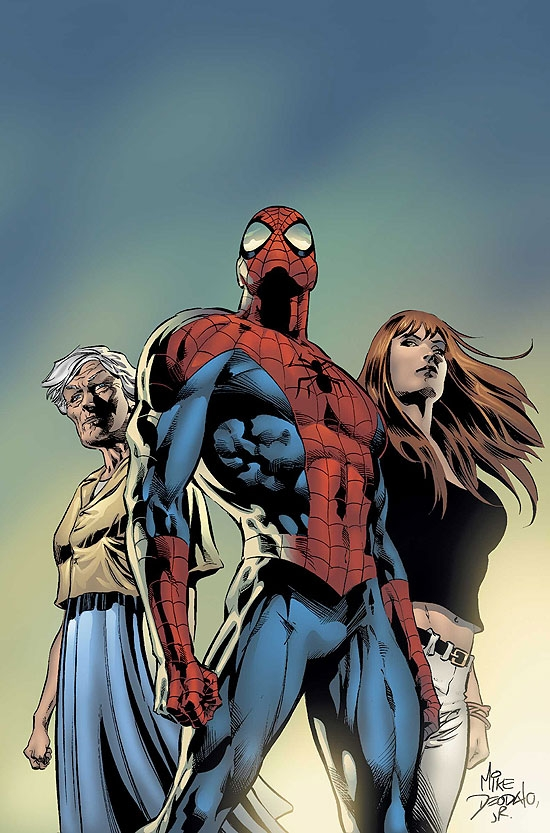 AMAZING SPIDER-MAN (2007) #519 COVER