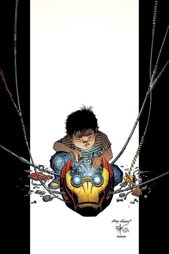 ULTIMATE IRON MAN (2006) #2 COVER