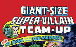 ESSENTIAL SUPER-VILLAIN TEAM-UP COVER