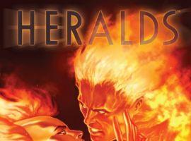 Heralds #3 cover by Jelena Kevic-Djurdjevic