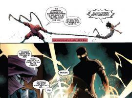 Shadowland: Power Man #1 preview art by Mahmud Asrar