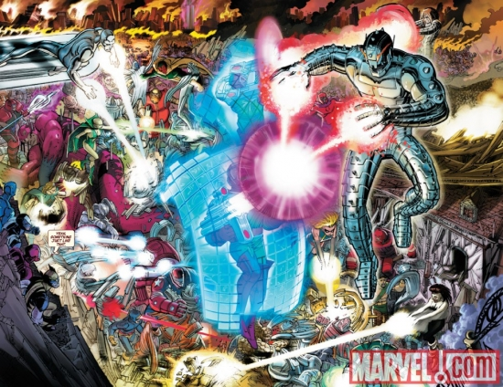 Avengers #4 preview art by John Romita Jr.