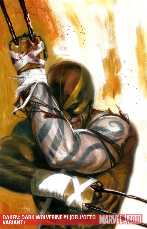 Daken: Dark Wolverine (2010) #1 (DELL'OTTO VARIANT)