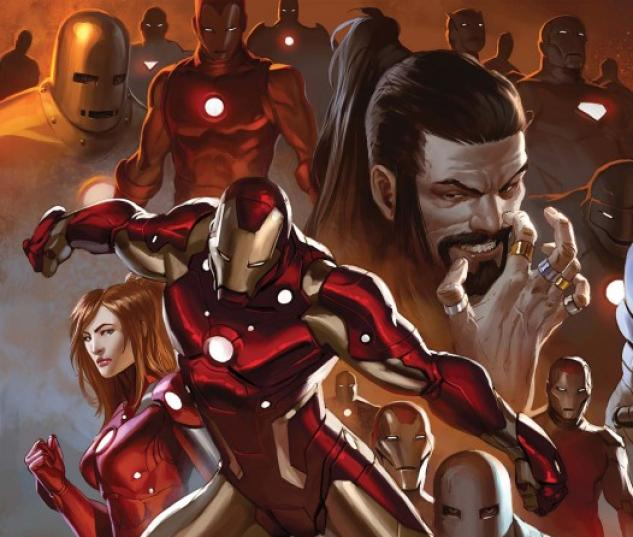 Invincible Iron Man (2008) #500 (DJURDJEVIC VARIANT)