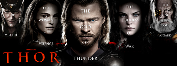 New Thor Character Posters