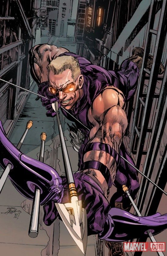 Ultimate Hawkeye #1 Neal Adams variant