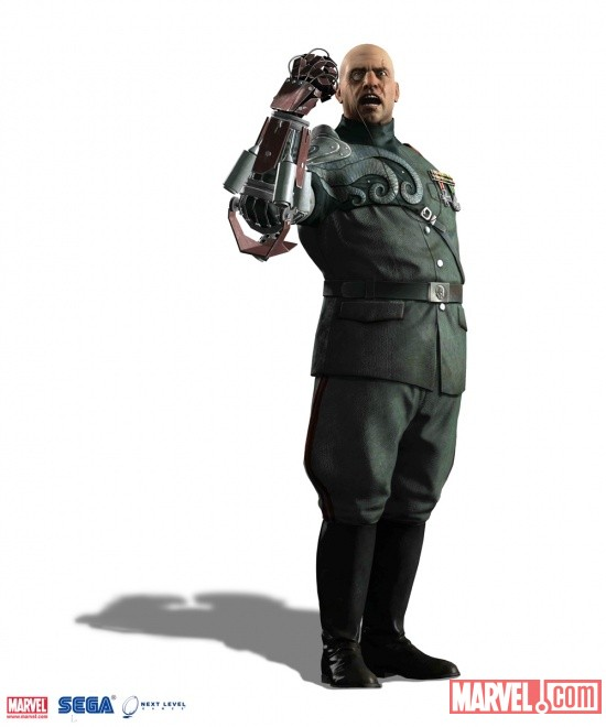 Baron Strucker character render from Captain America: Super Soldier