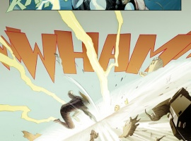 Ultimate Comics Ultimates #2 preview art by Esad Ribic