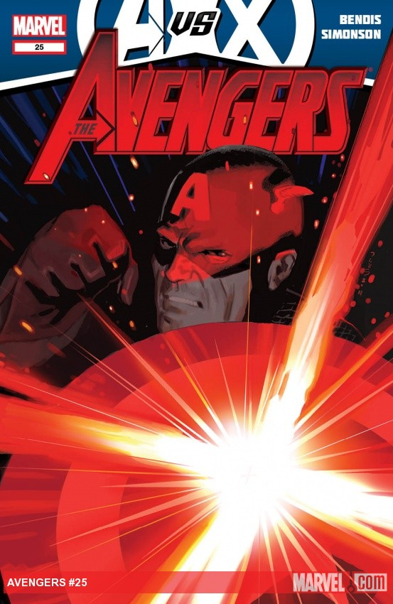 Avengers (2010) #25 cover by Daniel Acuna